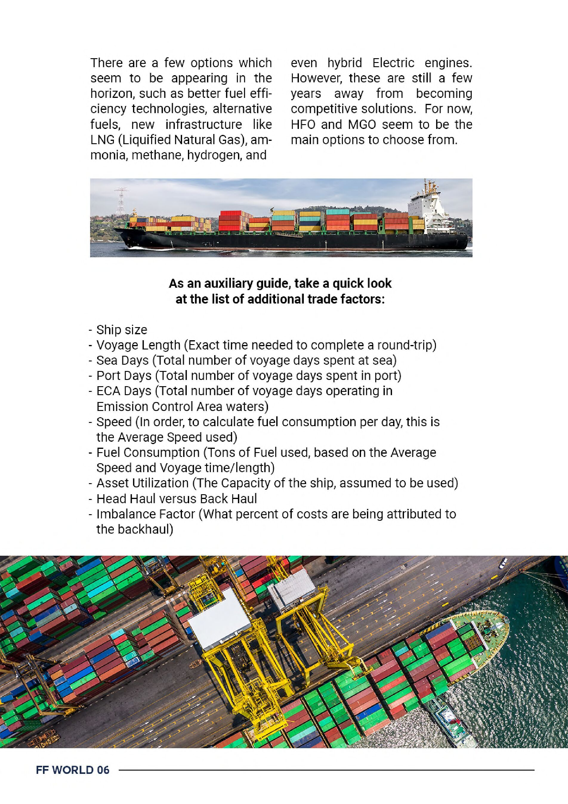 Freight Forwarders' World's